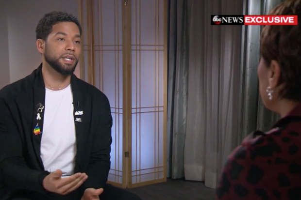 Jussie Smollett Gives First Televised Interview Since Attack