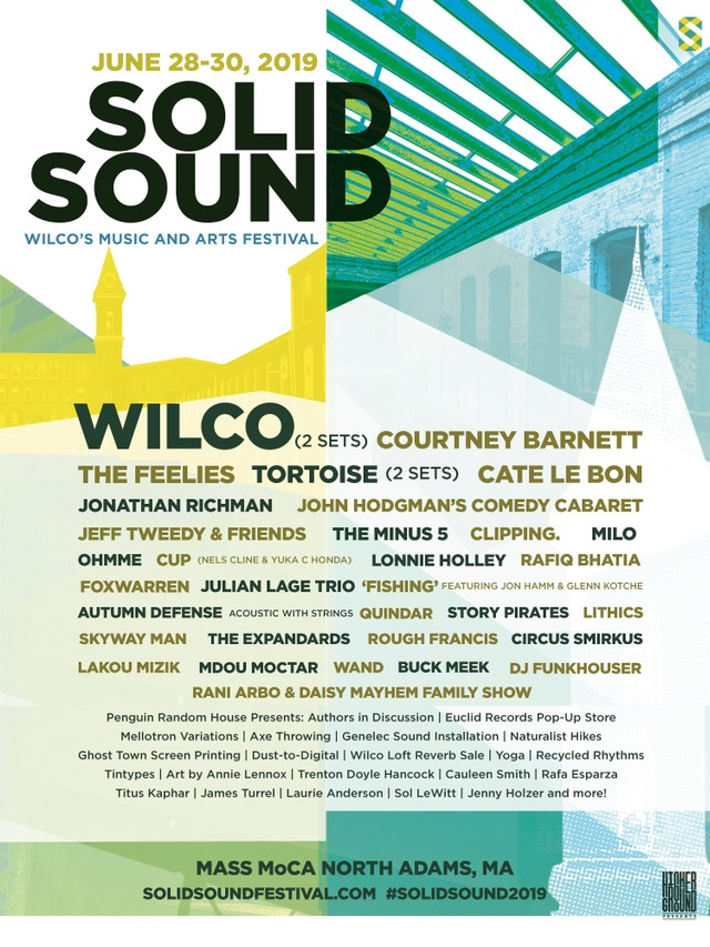 Wilco Solid Sound Festival 2019 Lineup Tickets