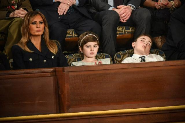 Joshua Trump Fell Asleep During SOTU