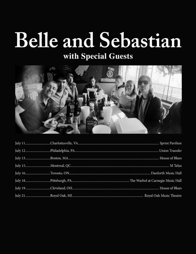 Cook And Belle Tour Dates