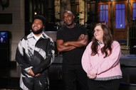 "Watch Khalid Perform ""Talk"" and ""Better"" on <i>SNL</i>"