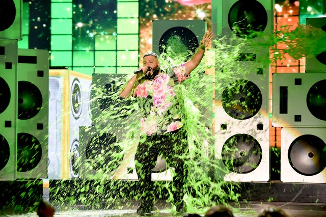 dj-khaled-gets-slimed-at-the-2019-kids-choice-awards-announce-new-album-watch