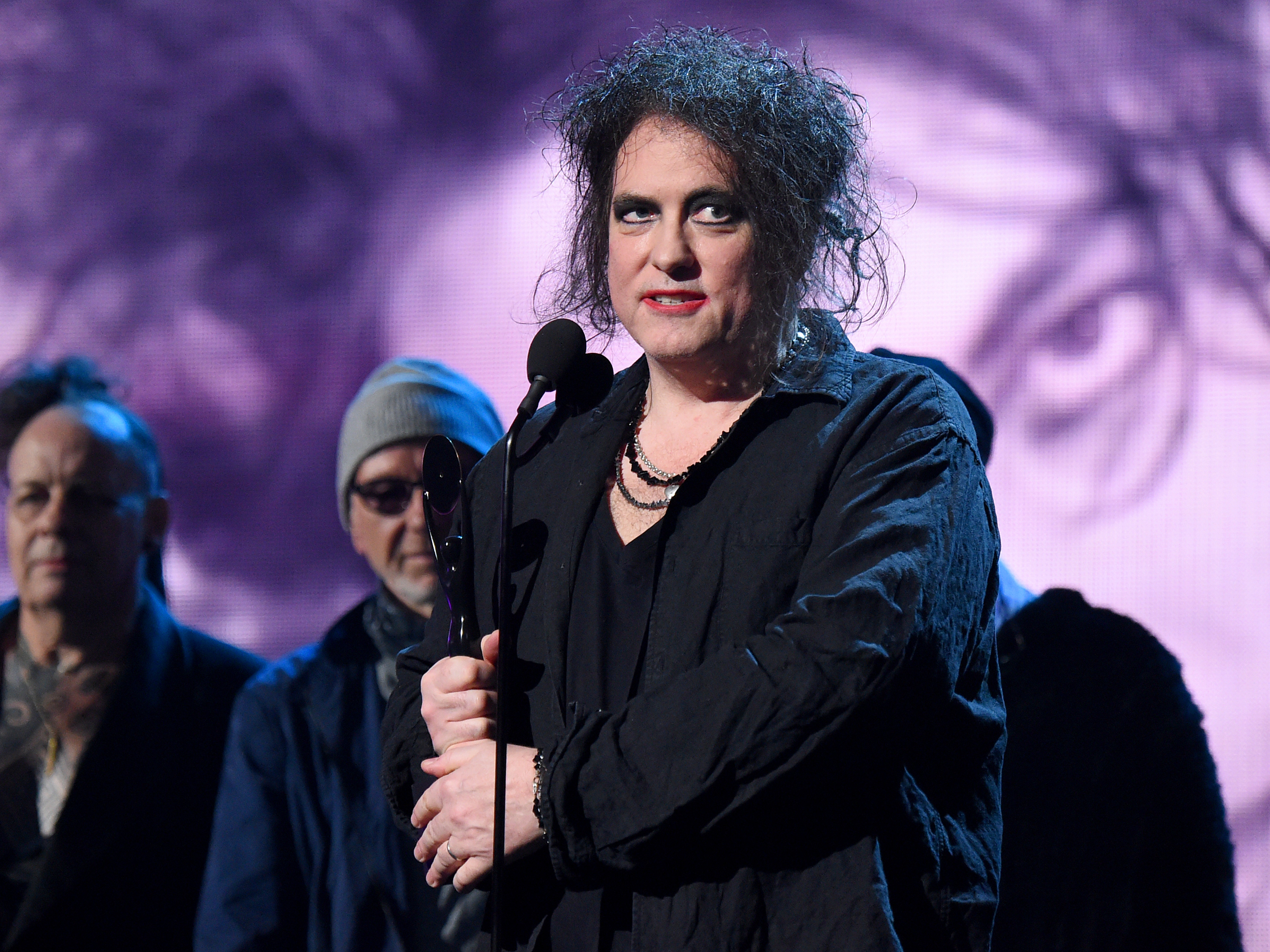 the-cure-perform-get-inducted-into-rock-and-roll-hall-of-fame-by-trent-reznor