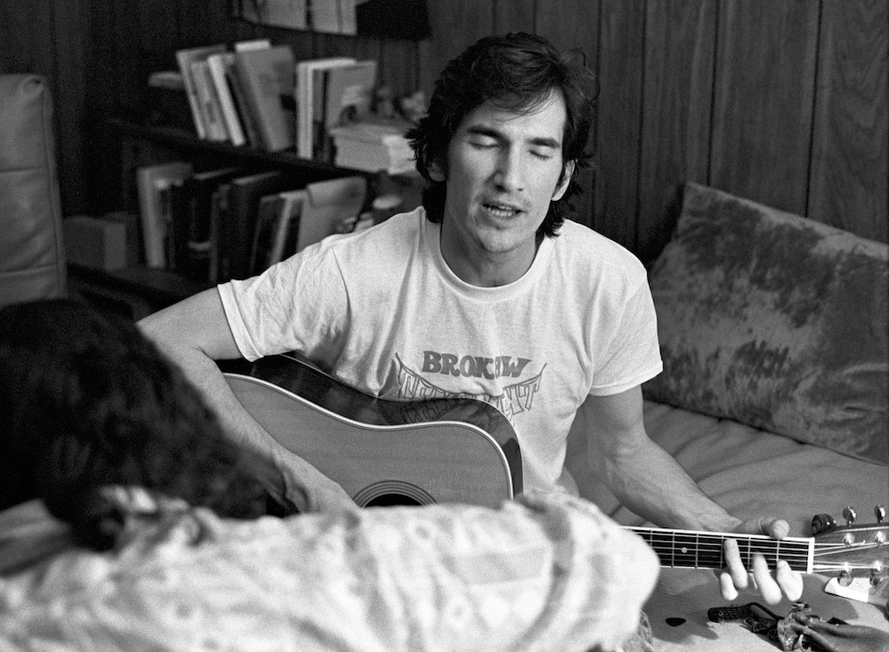 Townes Van Zandt in Athens, Georgia - May 20, 1973