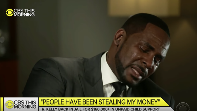 R Kelly disrupts Gayle King's interview with his girlfriends