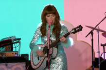 Jenny Lewis On the Line Stream Kimmel Performance