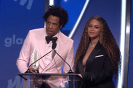 Watch Beyoncé and Jay-Z's GLAAD Awards Speech