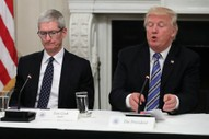 "Trump Reminds Everyone He Called Tim Cook ""Tim Apple"""