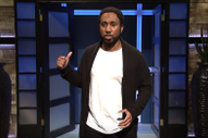 Jussie Smollett, Robert Kraft Seek Celebrity Legal Advice in <i>SNL</i> &#8220;Shark Tank&#8221; Parody