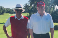 Trump Celebrates End of Mueller Investigation By Golfing with Kid Rock