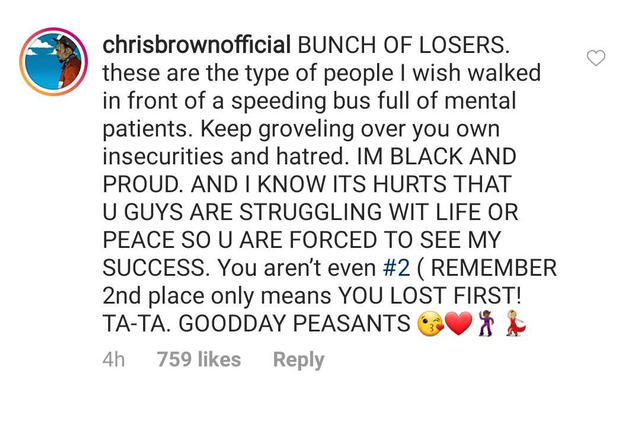 """Chris Brown Responds to Chvrches: """"These Are the Type of"""