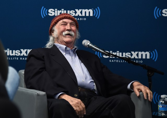 Singer, Songwriter David Crosby Visits The SiriusXM Studios For The