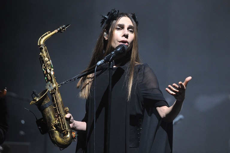 PJ Harvey Performs At The O2 Academy Brixton
