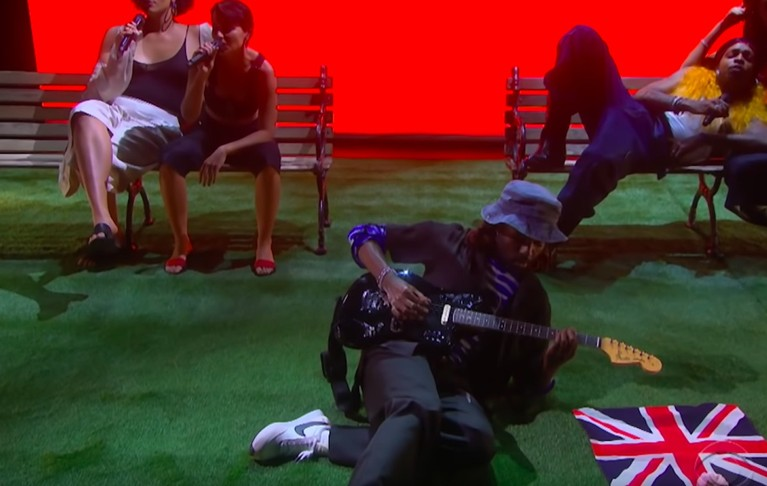"blood orange ""something to do"" ""dark and handsome"" corden"