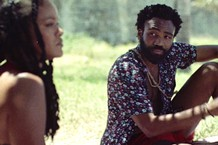 donald glover rihanna guava island movie