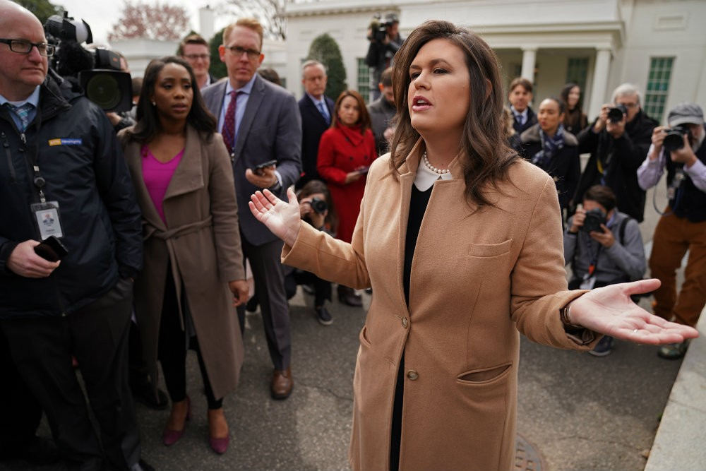 Sarah Huckabee Sanders Admits to Mueller That She Lied About FBI Agents Who Hated James Comey