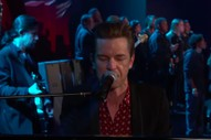 The Killers Perform &#8220;Land of the Free&#8221; Live for the First Time on <i>Kimmel</i>