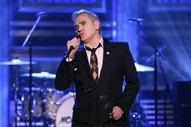 Morrissey Wears Pin for UK Right Wing Party While Performing on <i>Fallon</i>