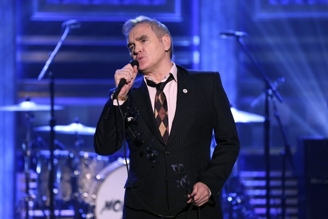Morrissey faces backlash over extremist right-wing pin on 'Tonight Show'