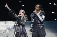 "Watch Madonna Play ""Future"" with Quavo in Controversial Eurovision Set"