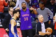 Drake Couldn't Help Himself During Game 1 of the NBA Finals