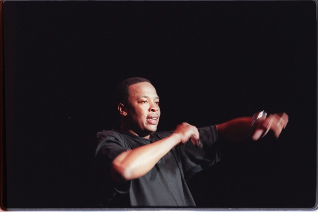 The Up In Smoke rap tour is a dream?team bill, headed by producer Dr. Dre and featuring Eminem, Ice