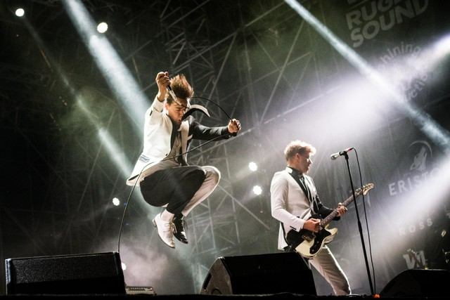 The Hives music concert at Rugby Sound Festival 2018