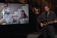 Watch Adam Sandler Perform a Chris Farley Tribute Song on <i>SNL</i>
