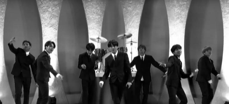 BTS Stephen Colbert Performance The Beatles Watch