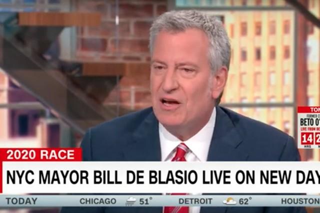 Bill de Blasio Discusses Love of The Clash, Reggae, Ska on CNN
