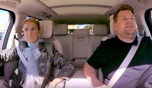 Celine Dion James Corden Recreate Titanic On Carpool Karaoke
