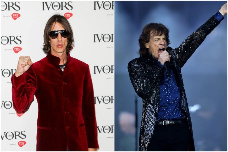 Richard Ashcroft Mick Jagger