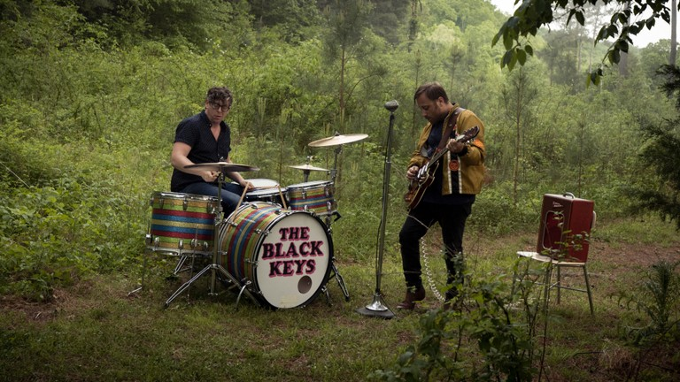 "black keys go video '""let's rock'"""
