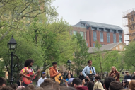 Watch Vampire Weekend Play an Acoustic Set at NYC's Washington Square Park