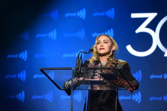 Pop Icon Madonna Says She Feels