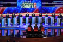 Democratic debate night 2, candidates