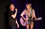 "Watch Taylor Swift Perform ""Shake It Off"" With Jesse Tyler Ferguson at Stonewall Inn"