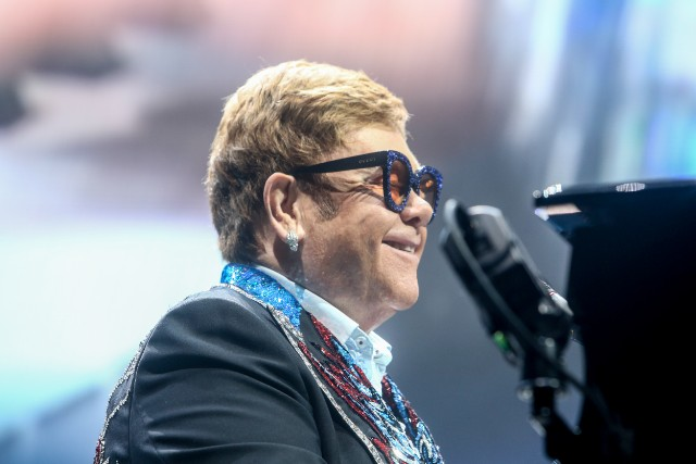 Elton John Performs At Wizink Center In Madrid