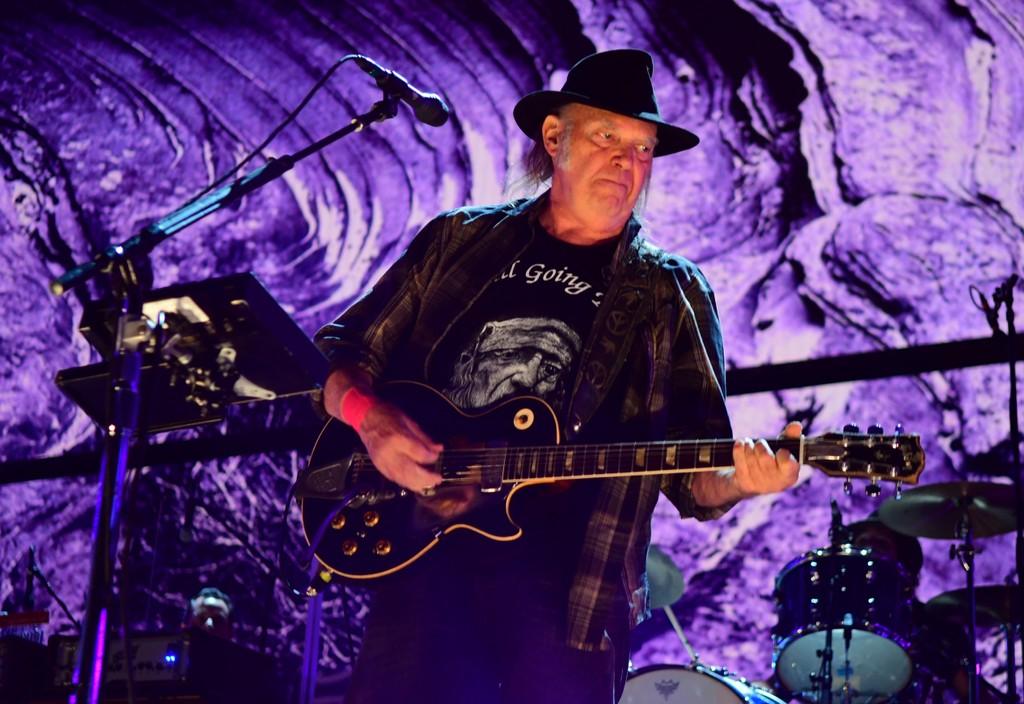 Stream Neil Young's New Live Album Tuscaloosa