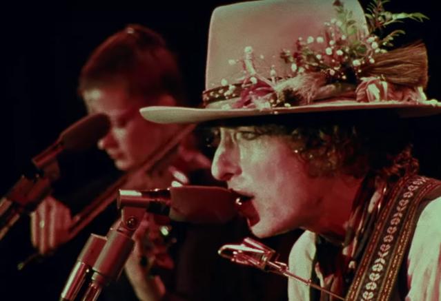 Martin Scorcese's Bob Dylan Rolling Thunder Revue Doc Gets
