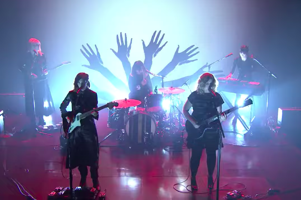 "Watch Sleater-Kinney Play ""Hurry on Home"" on 'Fallon'"