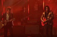 "Watch The Raconteurs Perform ""Help Me Stranger"" on <i>Colbert</i>"