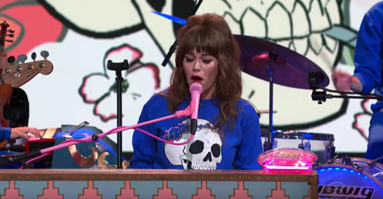 Jenny Lewis Wasted Youth Colbert Watch