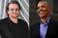 Bono and The Edge Grab Lunch With the Obamas in South of France