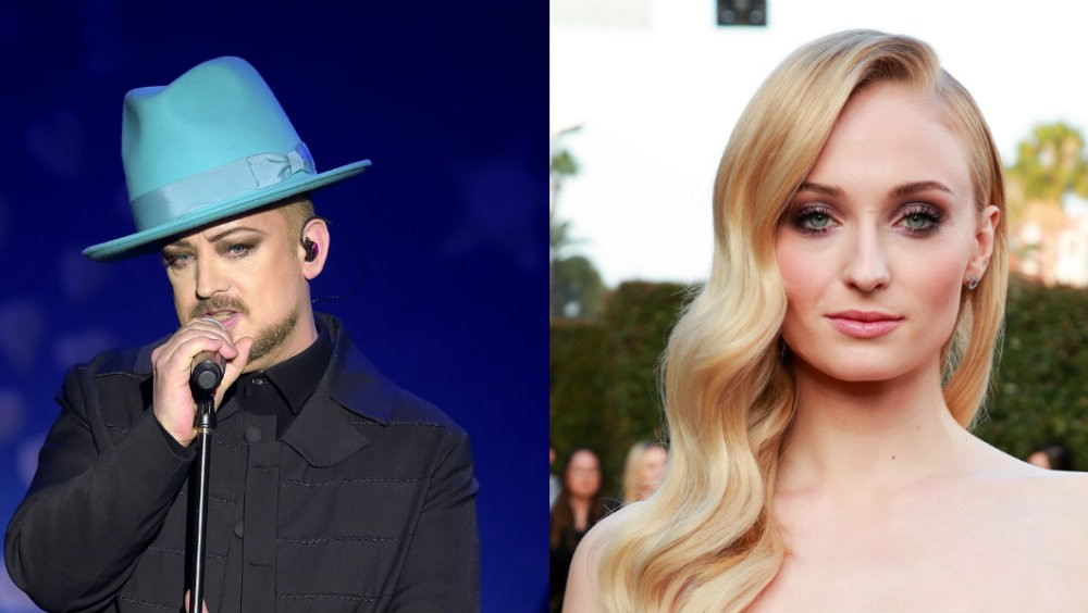 Boy George Wants Sophie Turner to Play Him in a Movie