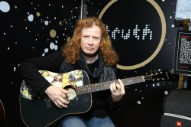 Megadeth's Dave Mustaine Diagnosed With Throat Cancer