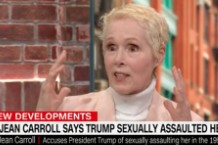 "E. Jean Carroll Says She's ""Sick of"" Trump Gaslighting His Sexual Assault Accusers"