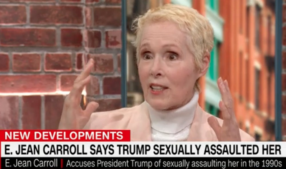"""E. Jean Carroll Says She's """"Sick of"""" Trump Gaslighting His Sexual Assault Accusers"""