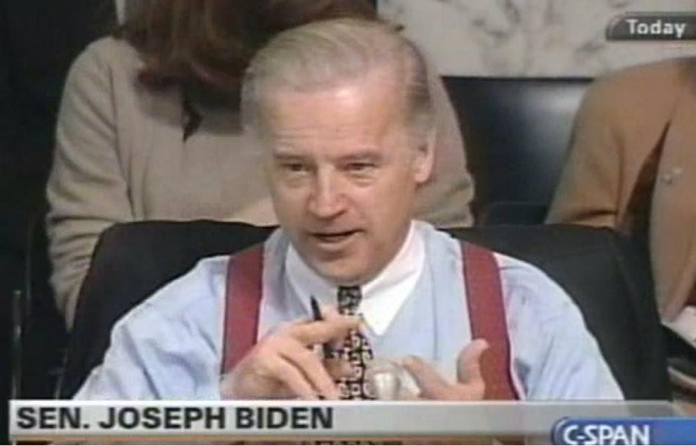 Joe Biden Discusses Throwing Ravers in Jail at RAVE Act Hearing in 2001