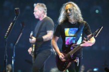 "Metallica Cover the Stone Roses' ""I Wanna Be Adored"" in England"